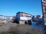 an old houseboat